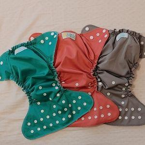 Easy peasy cloth diaper covers